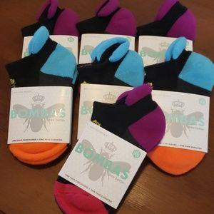 7 pairs of BOMBAS ankle socks